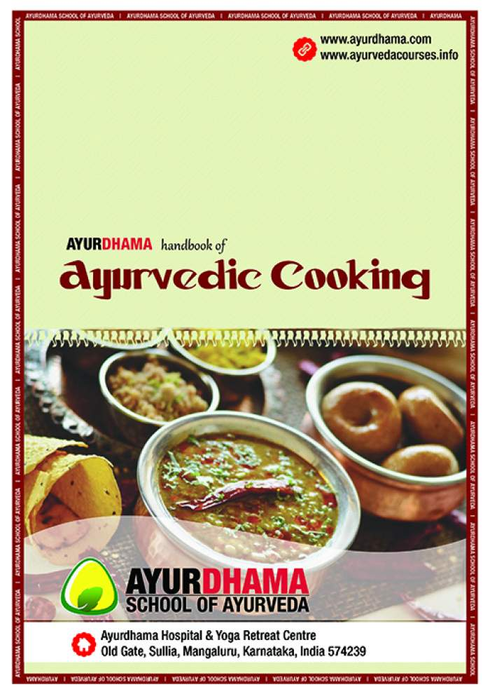 Ayurvedic Cooking and Ayurvedic Cosmetology Course | Ayurdhama Ayurveda