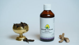 Ayurdhama Brahmi Taila to Improve Memory, Concentration and Reduce Headache and Hair fall